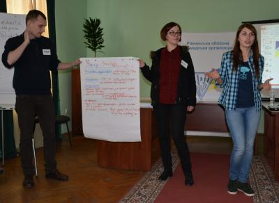 Тренінг «Використання новітніх медіа у просуванні громадських ініціатив»