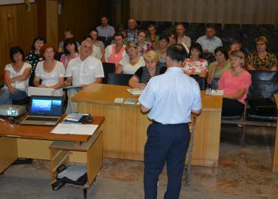 Лекції на тему перших виборів в ОТГ Рівненщини