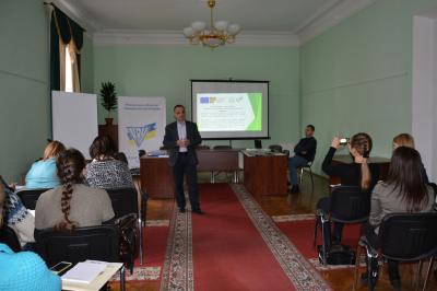 Тренінг «Підготовка якісних громадських проектів: теорія і практика»
