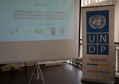 Тренінг «Підхід, що базується на правах людини у діяльності організацій громадянського суспільства»
