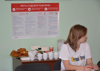 Прес-сніданки на тему судової реформи