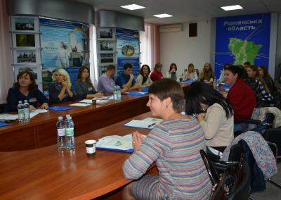 Тренінг «Підвищення організаційної спроможності лідерів місцевих громад у реалізації проектів»